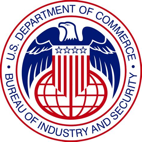 bureau of industry and security bis logo department of commerce