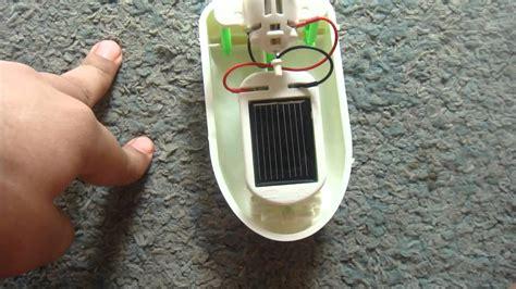 Solar Powered Toy Boat by Hybrid Solar Powered Boat Youtube