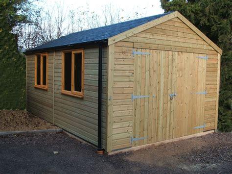 Timber Garages & Workshops Jon William Stables Uk