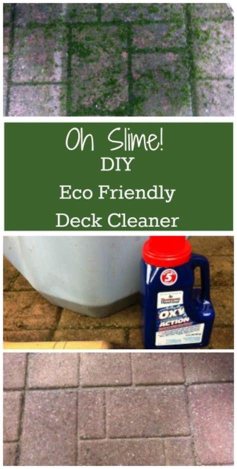diy eco friendly safe deck cleaner
