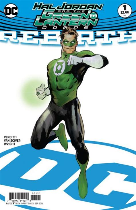 hal and the green lantern corps rebirth 1 dc comics comicbookrealm
