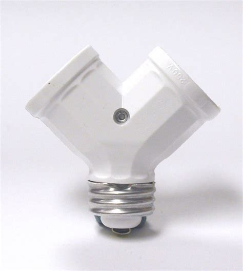 leviton twinlite l holder adapter white the home depot canada