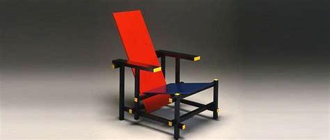 culte du design la chaise et bleu de gerrit rietveld le point