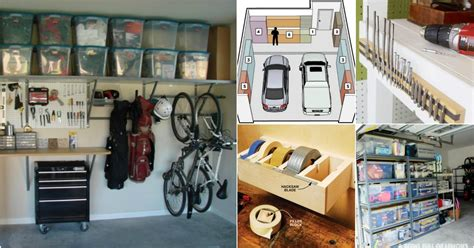 Brilliant Garage Organization Tips, Ideas And Diy
