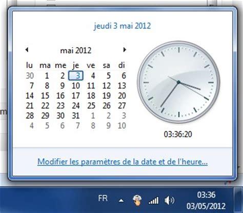 horloge pc bureau gratuit