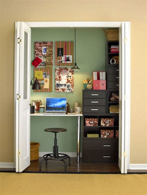 Craft Closets & Small Work Spaces