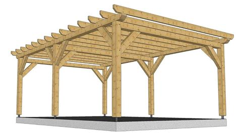 gazebo en bois kit mzaol