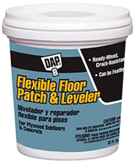 floor patch and leveler dap