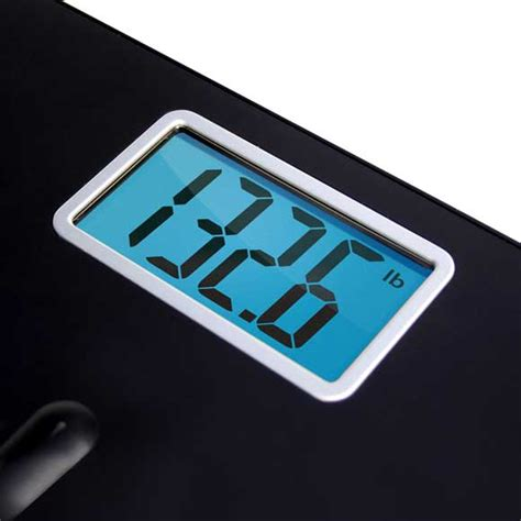 eatsmart precision premium digital bathroom scale with 3 5 quot lcd and quot step on