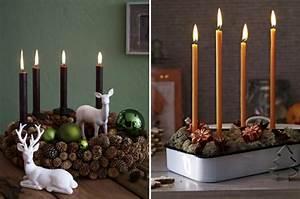 Esstisch Weihnachtlich Dekorieren : weihnachtliche tischdeko im skandinavischen stil ~ Markanthonyermac.com Haus und Dekorationen
