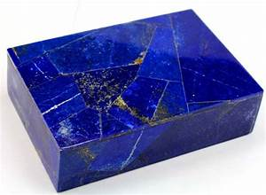 Royal Blue Lapis Lazuli : hand crafted royal blue lapis lazuli and marble jewellery box 150 x 112 x 42 mm 900 gm ~ Markanthonyermac.com Haus und Dekorationen