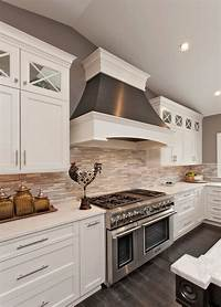 pictures of white kitchens 46 Best White Kitchen Cabinet Ideas for 2018