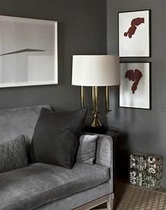 Graue Wandfarbe Mischen : die graue wandfarbe 43 interieur ideen damit ~ Markanthonyermac.com Haus und Dekorationen
