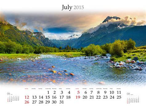 Photo 2015 Nature Calendar Mountains Landscape Photography Rivers
