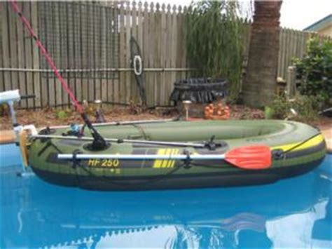Inflatable Boats Geelong by For Sale Sevylor Inflatable Boat Electric Motor Package