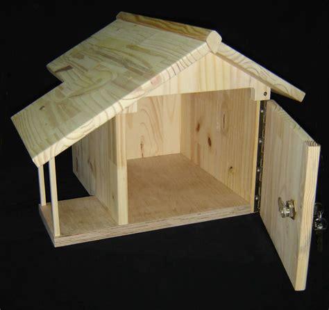 boite aux lettres en bois plan mzaol