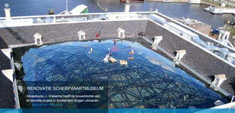 Renovatie Scheepvaartmuseum Amsterdam by Bouwmanagement Utiliteitsbouw J Vriesema