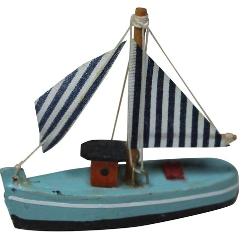 Toy Boat Png by Vintage Wooden Toy Boat From Victorianretreat On Ruby Lane