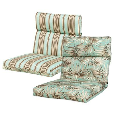 outdoor reversible chair cushion small patio even smaller budget
