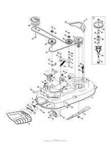 troy bilt 17arcacs011 mustang 42 xp 2015 parts diagram for mower deck 42 inch
