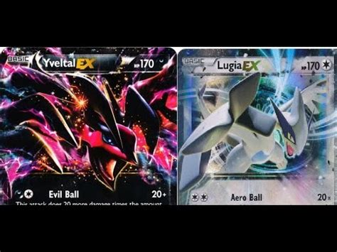 world yveltal ex lugia ex standard deck profile 2015 by kung fu
