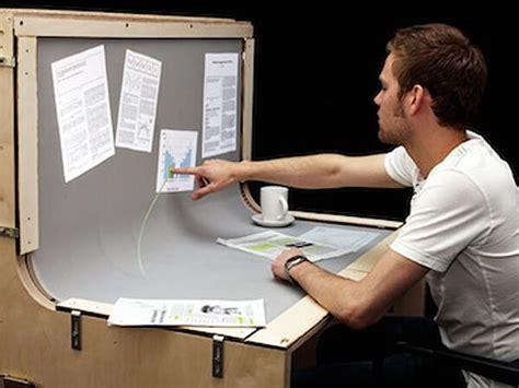 Idesk Concept  Le Bureau Du Futur Weekiz