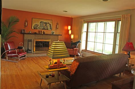 Sixties Living Room : Jim And Kathleen's