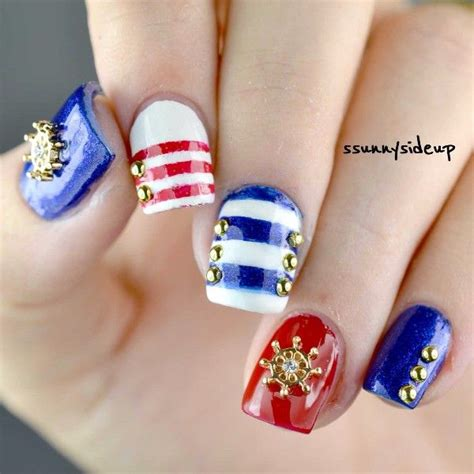 Boat Anchor Nail Art by 17 Best Images About Nautical Nails On Pinterest