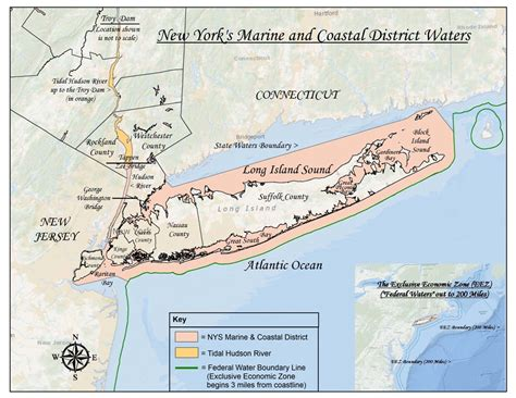Public Boat Rs Near Ocean City Nj by New York S Marine Coastal District Waters Nys Dept Of