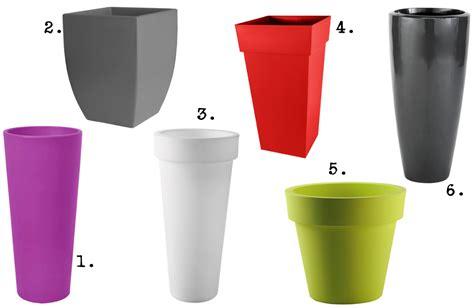 pots et colonnes pour le jardin