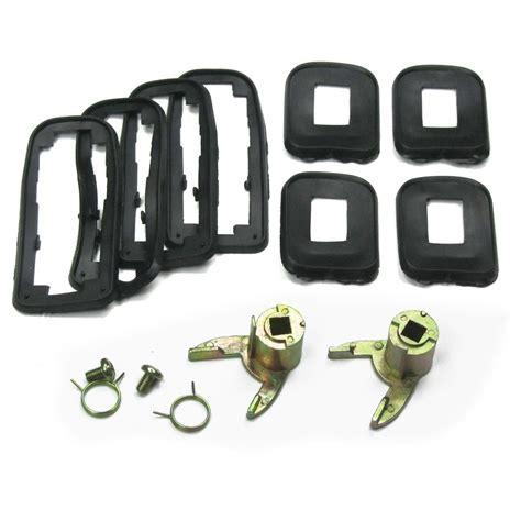 4 poignee de portes accessoires vw golf 1 et golf 2 ebay