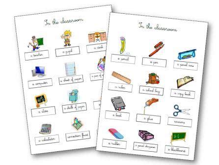 Matériel De Classe Anglais Aux Cycles 2, 3flashcards, Leçons, Dominos