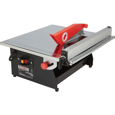 free shipping ironton 7in tile saw tile saws