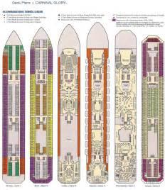 carnival deck plan