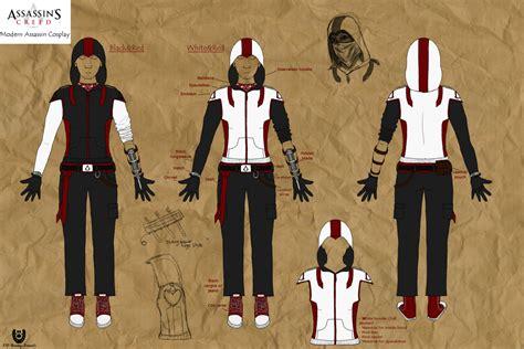 modern assassin designs by nightcur on deviantart