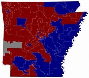 Arkansas Voting Map | afputra.com