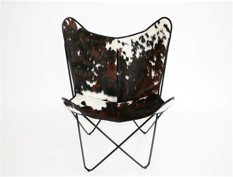 fauteuil en peau de vache bonet 171 bfk