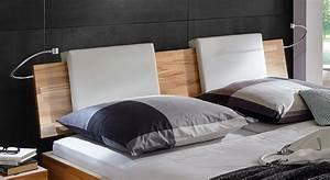 Kissen Für Bett Kopfteil : bequemes bett rimini aus hochwertigem buchenholz ~ Markanthonyermac.com Haus und Dekorationen