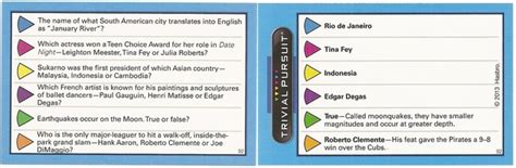trivia questions cards www pixshark images galleries with a bite
