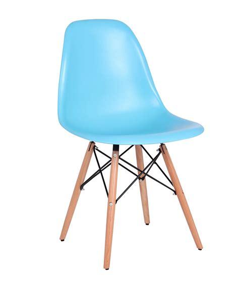 chaise design bleu le monde de l 233 a