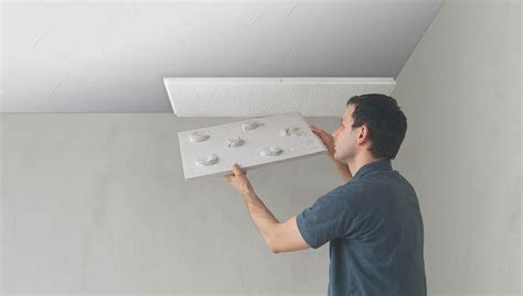 plaque isolation plafond a coller portes coulissantes