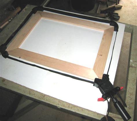 fabriquer un cadre en bois tout simple