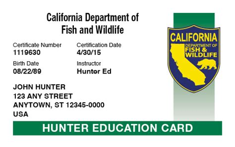 Texas Boating License Classes by California Hunting Laws And Regulations Hunter Ed