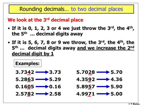 Rounding Numbers Part 1 © T Madas  Ppt Download