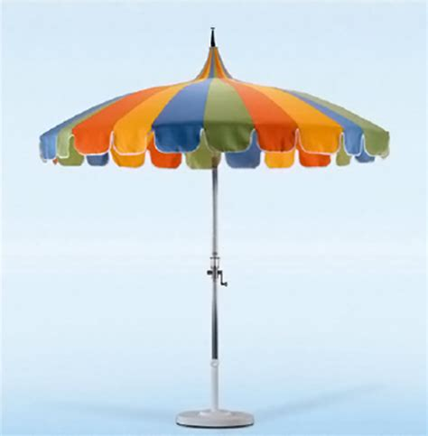california umbrella pagoda styled patio umbrella 8 6 quot