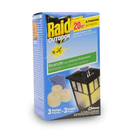 raid lanterne recharge anti moustiques usage exterieur 3bougies 3 tous les produits