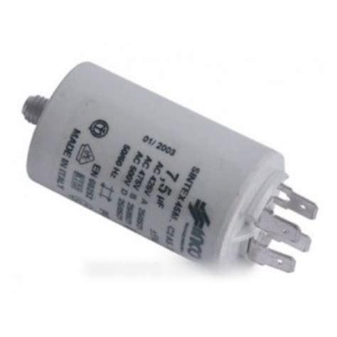 condensateur de demarrage pour seche linge r 233 f 9010306 lavage s 232 che linge