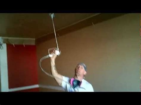 spraying ceilings with an airless sprayer paint watches ceilings