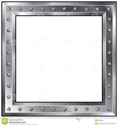 cadre m 233 tallique avec des boulons images libres de droits image 8402609