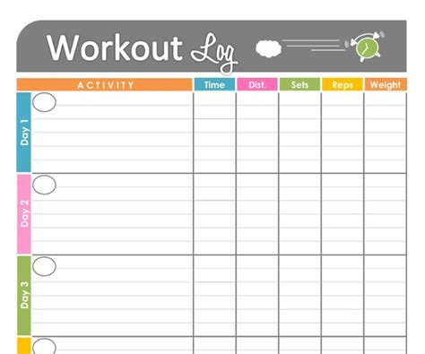 Free Printable Workout Schedule  Blank Calendar Printing  Workout  Pinterest  Blank Calendar